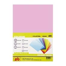 รูปภาพของ กระดาษสีถ่ายเอกสาร สเปคตรัม No.15 80/500 A4 สีชมพูเข้ม