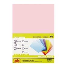 รูปภาพของ กระดาษสีถ่ายเอกสาร สเปคตรัม No.17 80/500 A4 สีชมพูกุหลาบ