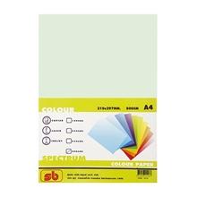 รูปภาพของ กระดาษสีถ่ายเอกสาร สเปคตรัม No.2 80/100 A4 สีเขียวอ่อน