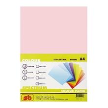 รูปภาพของ กระดาษสีถ่ายเอกสาร สเปคตรัม No.17 80/100 A4 สีชมพูกุหลาบ