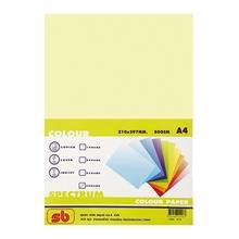 รูปภาพของ กระดาษสีถ่ายเอกสาร สเปคตรัม No.19 80/100 A4 สีเหลือง