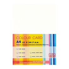 รูปภาพของ กระดาษการ์ดสี SB 180g A4 ขาว (แพ็ค 200 แผ่น)