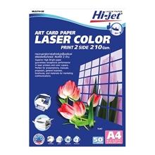 รูปภาพของ กระดาษเลเซอร์สี HI-JET HLG214-50 A4 210g(แพ็ค 50 แผ่น)
