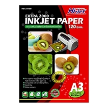 รูปภาพของ กระดาษอิงค์เจ็ท HI-JET HE123-100 120g A3(แพ็ค 100 แผ่น)