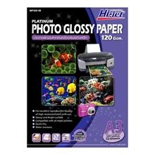 รูปภาพของ กระดาษอิงค์เจ็ทโฟโต้ HI-JET NP123-10 120g A3(แพ็ค 10 แผ่น)