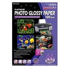 รูปภาพของ กระดาษอิงค์เจ็ทโฟโต้ HI-JET NP124-50 120g A4(แพ็ค 50 แผ่น)