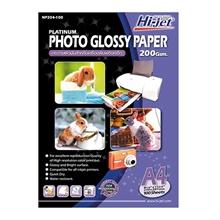 รูปภาพของ กระดาษอิงค์เจ็ทโฟโต้ HI-JET NP204-100 200g A4(แพ็ค 100 แผ่น)