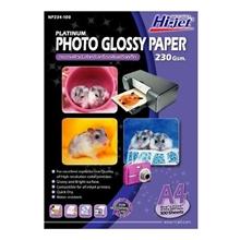 รูปภาพของ กระดาษอิงค์เจ็ทโฟโต้ HI-JET NP234-100 230g A4(แพ็ค 100 แผ่น)