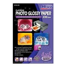 """รูปภาพของ กระดาษอิงค์เจ็ทโฟโต้ HI-JET NP236-100 230g 4x6""""(แพ็ค 100 แผ่น)"""