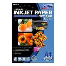 รูปภาพของ กระดาษอิงค์เจ็ทพิมพ์ 2 ด้าน HI-JET NMD124-50 120g A4(แพ็ค 50 แผ่น)
