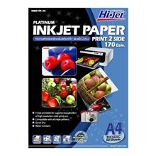 รูปภาพของ กระดาษอิงค์เจ็ทพิมพ์ 2 ด้าน HI-JET NMD174-50 170g A4(แพ็ค 50 แผ่น)