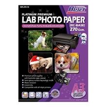 รูปภาพของ กระดาษอิงค์เจ็ทโฟโต้กึ่งมันกึ่งด้าน HI-JET NPL273-10  270g A3(แพ็ค 10 แผ่น)