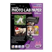 รูปภาพของ กระดาษอิงค์เจ็ทโฟโต้กึ่งมันกึ่งด้าน HI-JET NPL274-10  270g A4(แพ็ค 10 แผ่น)