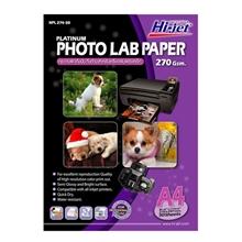 รูปภาพของ กระดาษอิงค์เจ็ทโฟโต้กึ่งมันกึ่งด้าน HI-JET NPL274-50  270g A4(แพ็ค 50 แผ่น)