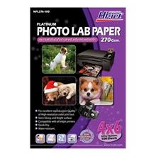 """รูปภาพของ กระดาษอิงค์เจ็ทโฟโต้กึ่งมันกึ่งด้าน HI-JET NPL276-100  270g 4x6""""(แพ็ค 100 แผ่น)"""