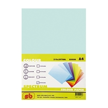 รูปภาพของ กระดาษสีถ่ายเอกสาร สเปคตรัม No.7 80/500 A4 สีเขียว