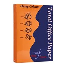 รูปภาพของ กระดาษสีถ่ายเอกสาร ฟลายอิ้ง No.23 80/500A4 สีส้มเข้ม