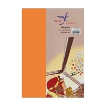 รูปภาพของ กระดาษสีถ่ายเอกสาร ฟลายอิ้ง No.23 120/100A4 สีส้มเข้ม