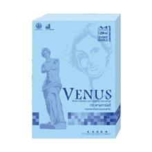 รูปภาพของ กระดาษสีถ่ายเอกสาร วีนัส 120g A4 สีฟ้า (แพ็ค 200 แผ่น)