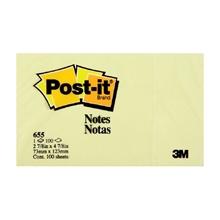 """รูปภาพของ Post-it 3M 655 3x5"""" เหลือง"""