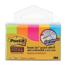รูปภาพของ Post-it 3M PageMarker 670-5AN 1.5x5 ซม. นีออนคละสี