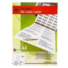 รูปภาพของ ป้ายสติกเกอร์ ตราช้าง Jet Laser #18-038 38x21.2 มม.6,500 ป้าย
