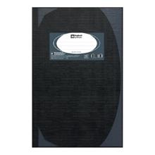 รูปภาพของ สมุดบันทึกมุมมัน ตราช้าง 5/100 HC101 70g สีดำ