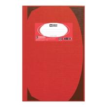 รูปภาพของ สมุดบันทึกมุมมัน ตราช้าง 5/100 HC103 70g  สีแดง