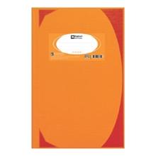 รูปภาพของ สมุดบันทึกมุมมัน ตราช้าง 5/100 HC106 70g สีส้ม