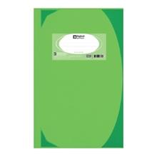 รูปภาพของ สมุดบันทึกมุมมัน ตราช้าง 5/100 HC107 70g สีเขียวมะนาว