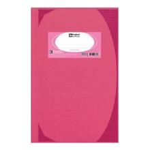 รูปภาพของ สมุดบันทึกมุมมัน ตราช้าง 5/100 HC109 70g สีชมพู