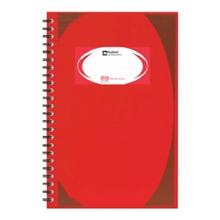 รูปภาพของ สมุดบันทึกมุมมันสันห่วง ตราช้าง WHC-403 สีแดง