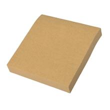"""รูปภาพของ กระดาษคราฟท์ Sticky Note แบบไม่มีเส้น ขนาด 3""""x3"""" 100 แผ่น/เล่ม"""