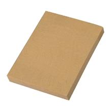 """รูปภาพของ กระดาษคราฟท์ Sticky Note แบบไม่มีเส้น ขนาด 3""""x4"""" 100 แผ่น/เล่ม"""