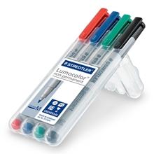 รูปภาพของ ชุดปากกาเขียนแผ่นใส สเต็ดเล่อร์ 315-WP4 No.M ลบได้