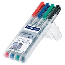 รูปภาพของ ชุดปากกาเขียนแผ่นใส สเต็ดเล่อร์ 316-WP4