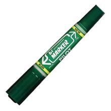 รูปภาพของ ปากกาเคมี 2 หัว ไพล็อต BI สีเขียว