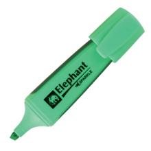 รูปภาพของ ปากกาเน้นข้อความ ตราช้าง สีเขียว