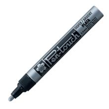 รูปภาพของ ปากกาเพ้นท์ ซากุระ XPMK-B 2 มม. สีเงิน