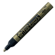 รูปภาพของ ปากกาเพ้นท์ ซากุระ  XPMK-B41501 2 มม. สีทอง