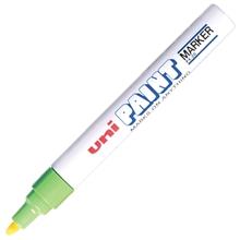 รูปภาพของ ปากกาเพ้นท์ ยูนิ รุ่น PX-20 สีเขียว