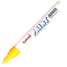 รูปภาพของ ปากกาเพ้นท์ ยูนิ รุ่น PX-20 สีเหลือง