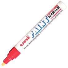 รูปภาพของ ปากกาเพ้นท์ ยูนิ รุ่น PX-20 สีแดง