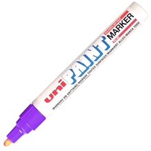 รูปภาพของ ปากกาเพ้นท์ ยูนิ รุ่น PX-20 สีม่วง