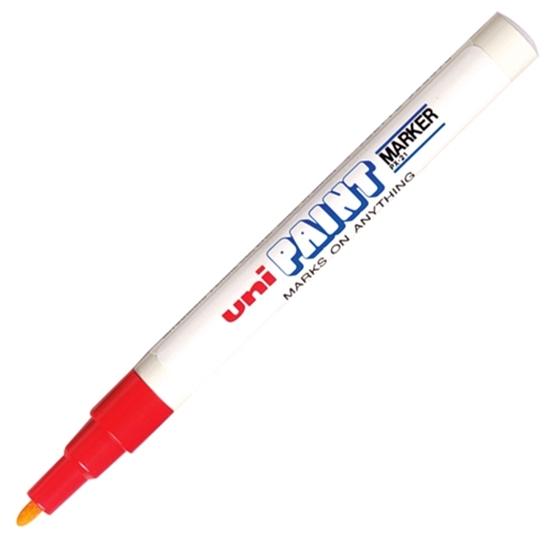 รูปภาพของ ปากกาเพ้นท์ ยูนิ รุ่น PX-21 สีแดง