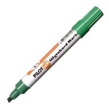 รูปภาพของ ปากกาไวท์บอร์ด ไพล็อต WBMK-B หัวตัด สีเขียว