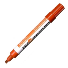 รูปภาพของ ปากกาไวท์บอร์ด ไพล็อต WBMK-B หัวตัด สีแดง