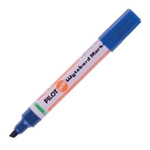 รูปภาพของ ปากกาไวท์บอร์ด ไพล็อต WBMK-B หัวตัด สีน้ำเงิน
