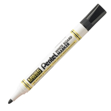 รูปภาพของ ปากกาไวท์บอร์ด เพนเทล MW85 สีดำ