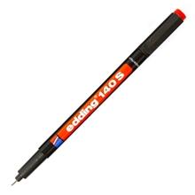 รูปภาพของ ปากกาเขียนแผ่นใส EDDING 140S 0.3มม. ลบไม่ได้ แดง